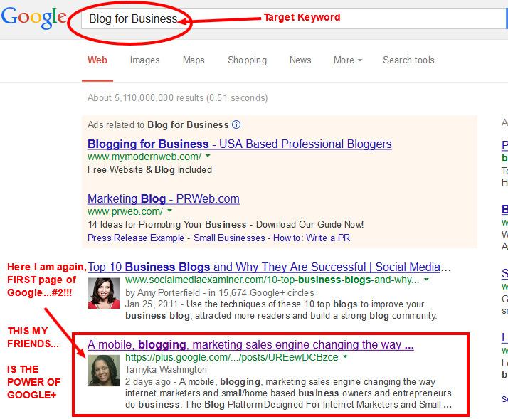 Google Plus Benefits - Authorship