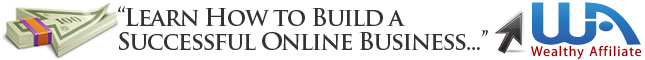 Build a Successful Online Business   Wealthy Affiliate