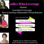 Learn To Leverage: How To Develop A Successful Virtual Business