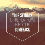 Learning From Your Setbacks