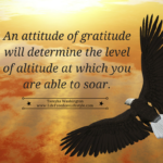 Day 14 – An Attitude of Gratitude Determines Your Altitude