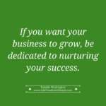 Day 15 – Nurture Your Success