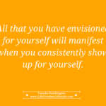 Day 17 – Show Up For Yourself