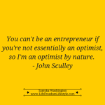 Day 8 – Being an Optimistic Entrepreneur