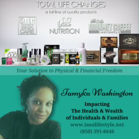 Total Life Changes Preferred Customer | Tamyka Washington
