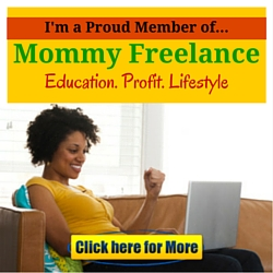 I'm a Proud Member of Mommy Freelance