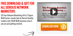 Free Network Marketing Business Training